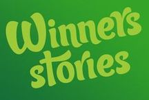Winners Stories / Looking for #winspiration? This board features amazing prize-winning stories from REAL compers!