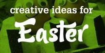 Creative Easter ideas / This board is full of fun ideas for prize-winning Easter crafts, bakes & bonnets!