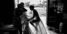 Bride Getting Ready by Chrisman Studios