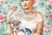 Coup de ❤️ Illustrations / Pour rester inspirés, découvrez ma sélection de visuels : dessins, peintures, collages, illustrations  A retrouver aussi sur www.lelabonet.com