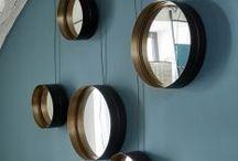 Miroir, Miroir dit moi qui est la plus belle ? / Pour agrandir une pièce ou s'admirer le miroir est indispensable ! #homesweethome A retrouver aussi sur www.lelabonet.com