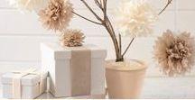 Decoration Wedding DIY / Trouvez la perle rare avec ces centaines de DIY tendance pour votre mariage.
