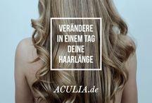Haarverlängerung mit Echthaar-Tressen / Schöne lange Haare mit Extensions aus Remy Virgin Hair