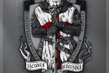 Anjos e Cavaleiros / Anjos e Cavaleiros medievais