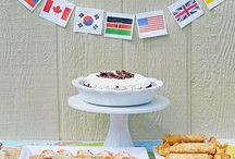 Yummy international recipes / International foods to share with our families