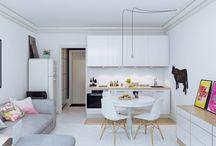 Indoor - Living Room - Kitchen - Bathroom - Bedroom