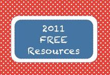 | 2011 • Free Resources | / Teachers Pay Teachers Free Downloads from 2011 Newsletters