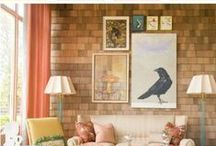 Apartment Style / Inspiration for apartment dwellers and others with small spaces to decorate!