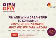 pin&fly / Pinlerimi beğenin & beni Koh Samui'ye uçurun! ;) Like my pins & fly me to Koh Samui ;)