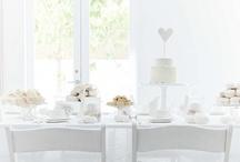 Elegant White / ...sophisticated, cool, pretty...