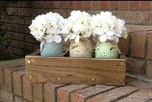 Crafts - Small Home Decor / DIY projects for around the house that aren't too large! / by Rose Daugherty-Rudd