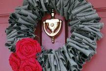 Crafts - Wreaths / by Rose Daugherty-Rudd