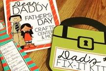 Father's Day Resources + Activities / Educational and creative resources to celebrate Father's Day with your children or students.