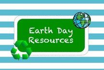 E A R T H • D A Y • R E S O U R C E S / Earth Day Resources / by TeachersPayTeachers