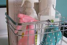 House Keeping--tips and homemade cleaner recipes / by Debbie Lauzon