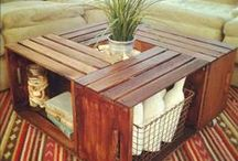 Living Room Decor / Projects and decor ideas for the living room / by Rose Daugherty-Rudd