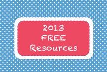 | 2013 • Free Resources | / Free downloads from the 2013 Teachers Pay Teachers Newsletters