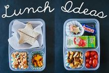 Kids Lunches / Healthy, fun ideas for lunches to send or make with your kids or students.