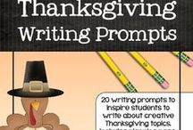 Thanksgiving | Secondary / Secondary English language arts resources with a Thanksgiving theme. / by TeachersPayTeachers