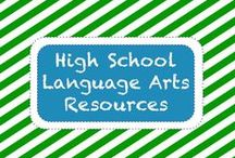 E L A • H S / High School English Language Arts (ELA) / by TeachersPayTeachers