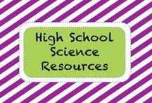 S C I E N C E • H S / High School Science Resources / by TeachersPayTeachers