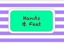 H A N D S & F E E T / by TeachersPayTeachers
