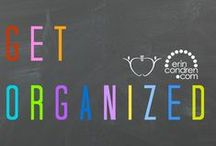 | Get Organized | / TpT is partnering with Erin Condren to bring you images of organized classrooms and beautiful teacher planners. Use hashtag #Plan2Organize and your photo may be featured here! / by TeachersPayTeachers