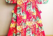 MB Designs | Kimonos: Crazy For Color / A color study of modern kimonos photographed by MBD as inspiration for a client.
