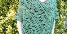 shawls, ponchos / knit and crochet ponchos