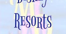 Disney Resorts / Pins about the resort accommodations at the Disney Parks including resort reviews