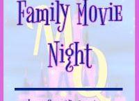 Family Movie Night / Fun ideas to help you plan a successful family movie night.