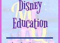 Disney Education / Pins featuring ways to incorporate Disney in education