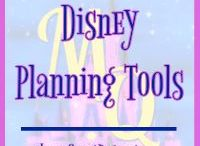 Disney Planning Tools / Pins features tools to help you planning a Disney vacation