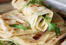 Moroccan breads and flatbreads / Marokkói kenyérfélék és lepények / Moroccan breads and flatbreads