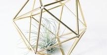 My himmeli polyhedrons | Moje bryły himmeli / Designed and hand made by me. Interior decorations for lovers of minimal, loft and scandinavian style. Can be a beautiful air plants holders too.