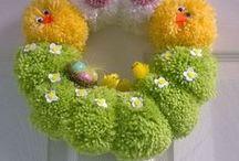 DIY - Hand Made - Decoration - Wreath - Dekorace - domov