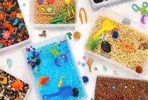Messy Play Kits / My Products / Here are the sensory toys and activity kits that I've made | Sensory bins, science kits, slime kits, educational toys, activity kits, play-based learning | Available at http://MessyPlayKits.com or on Etsy at https://messyplaykits.etsy.com