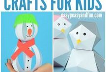 Winter Themed Kid Activities, Crafts, Toys, and Party Ideas / Winter activities for kids including winter-themed toys, indoor activities, outdoor activities, and snow activities.