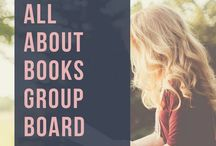 All About Books Group Board / Please send me an email at sheisfondofbooks@gmail.com & like She is Fond of Books to be added to the board. In this board, you will be able to pin original content such as book related blog posts, book quotes & etc. Authors can even promote their books!