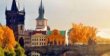 Praga / Pins inspirados nos #ContosDeViagem: 'Entalada em Praga' e 'Uma anciã de espírito jovem' em http://estantedeviagens.com.br/