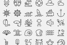 Рисунки / Много рисунков на одной работе