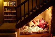 Favorite Places & Spaces / Give me a nook or cranny and you'll find me there curled up pinning on Pinterest.   / by Marty Smith