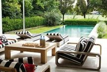 Outdoor Spaces / Bring the outside in and inside out. / by Hillary Thomas