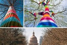 Art Attack - Yarn Bombing / by Victoria McKenzie