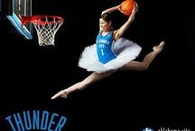 Thunder UP! / OKC Thunder NBA Team  / by LeAnn Harmon