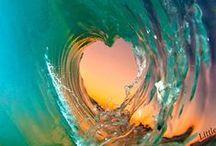 Mermaid / beach water summer ocean waves nautical / by DMSR