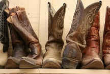 Boots  / New and Vintage Cowboy Boots  / by Peer Into The Past: History