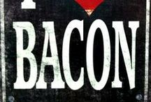 Bacon / To be honest, I don't even like bacon. But there are so many bacon-y things, I feel compelled to collect them. / by Jenna L