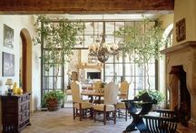 Dining and breakfast rooms / These are dining rooms and breakfast rooms that I would love in my home.  / by Marty Smith