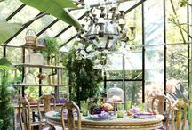 Conservatories and Sun Rooms / I absolutely love the Brits and their conservatories. We have their cousins in the U.S.called sunrooms. They're ok, but give me a conservatory anyday.   / by Marty Smith